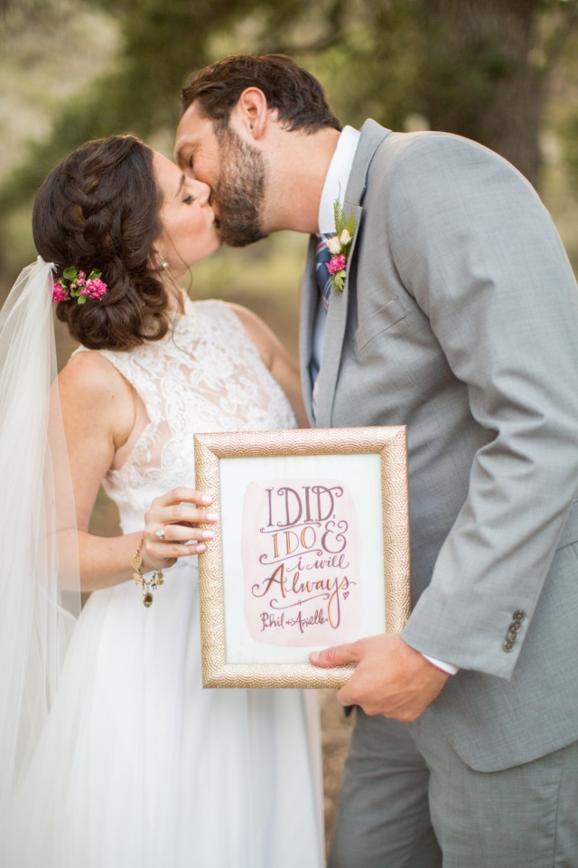 I did I do and I will always wedding sign