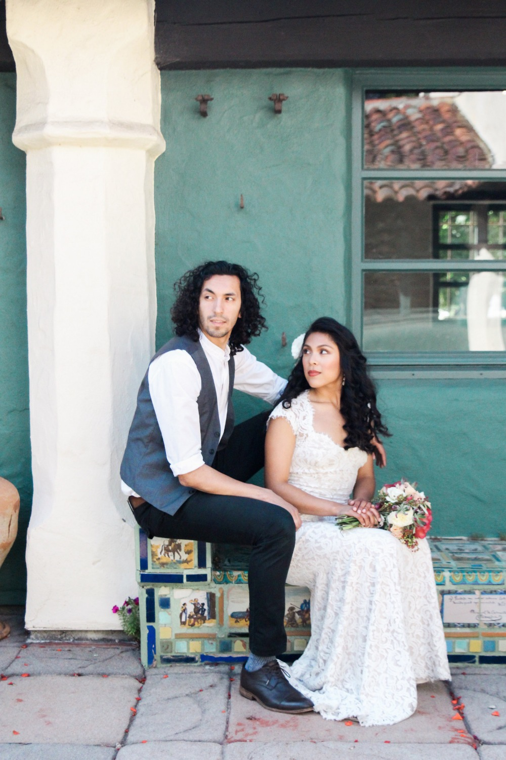Old world Mexico inspired wedding ideas