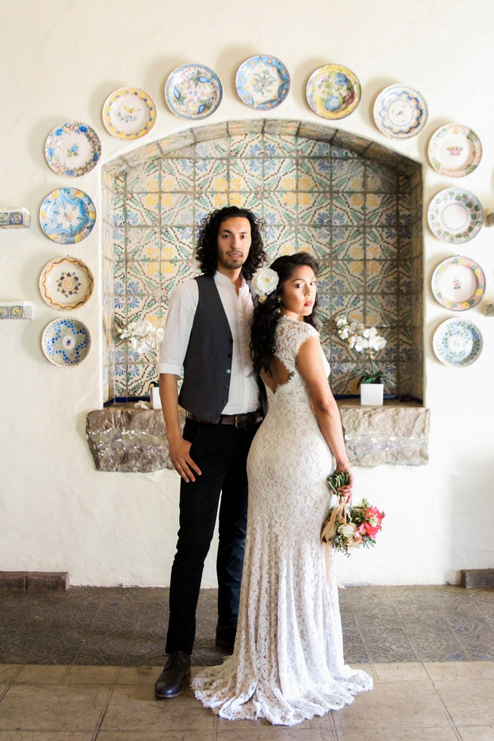 Beautiful old world Mexico wedding inspiration