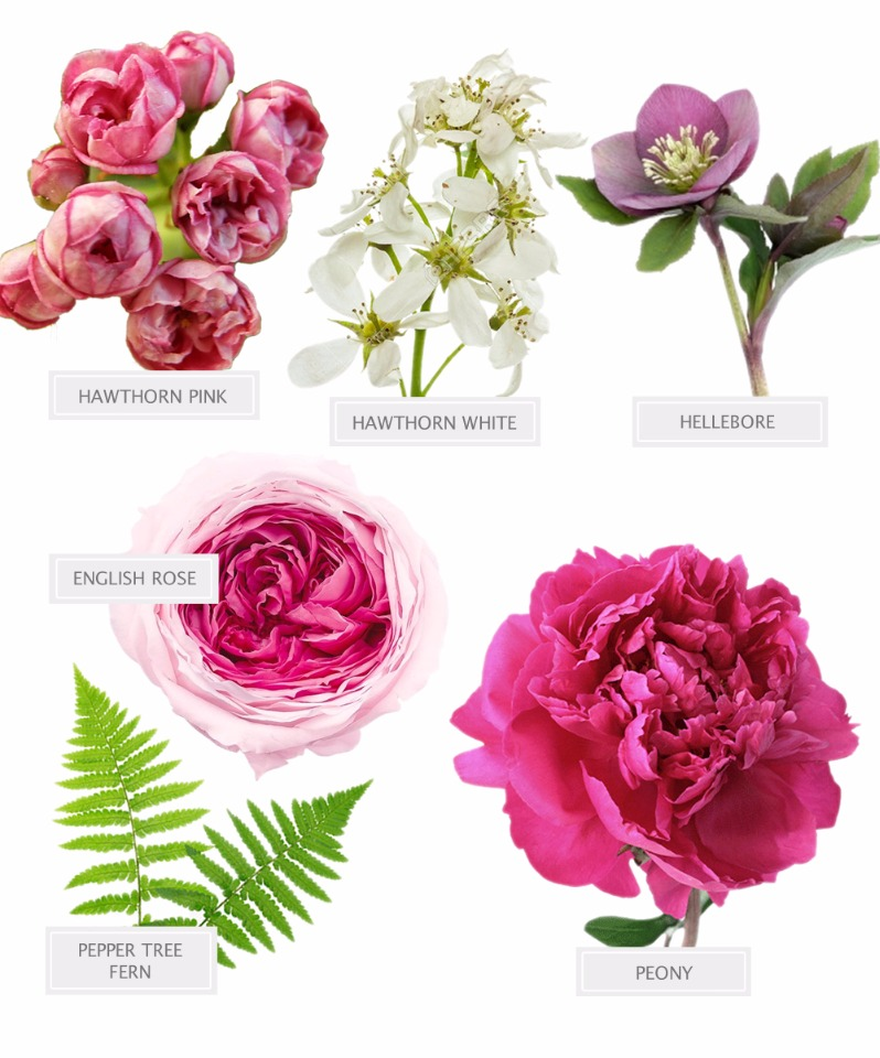 wedding flower recipe for your bouquet
