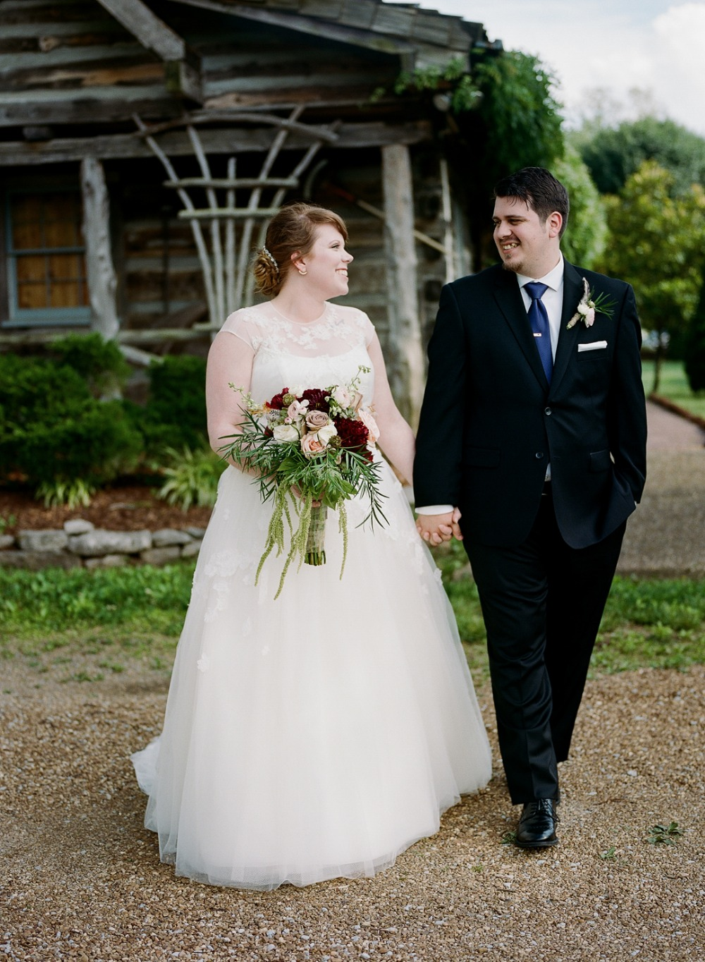 Beautiful bride and handsome groom