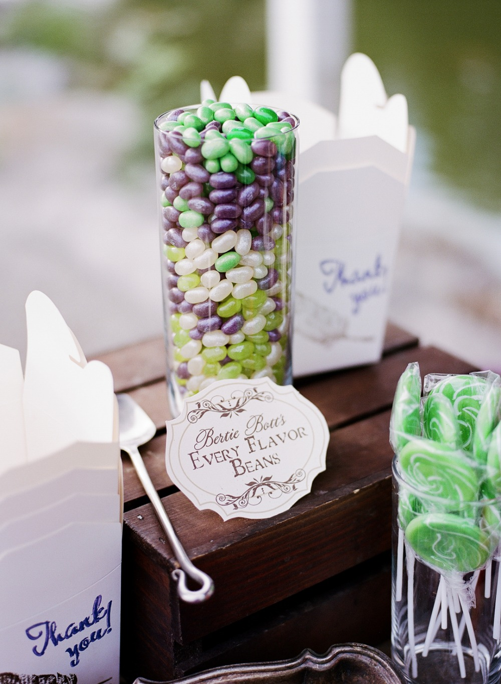 Harry Potter themed candy table