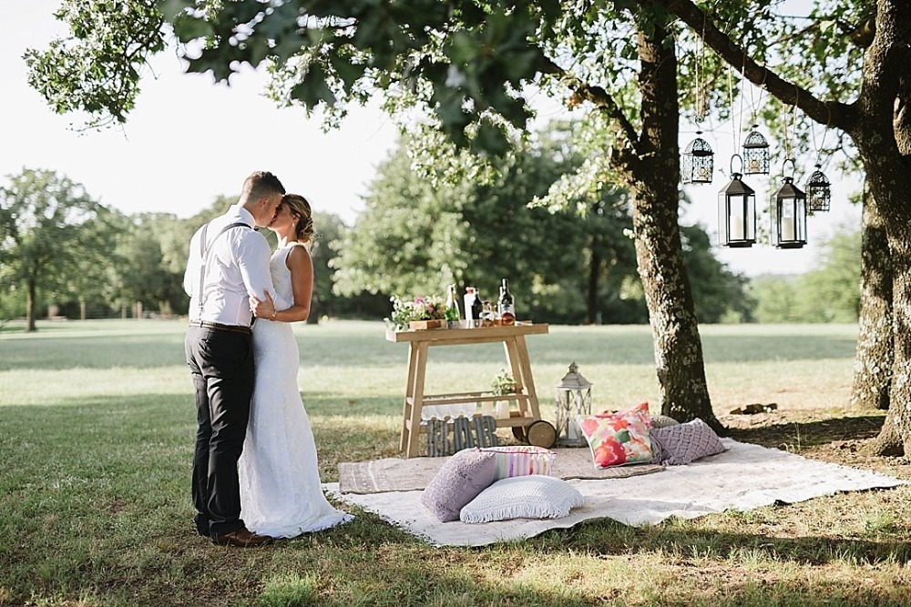 Outdoor picnic wedding ideas