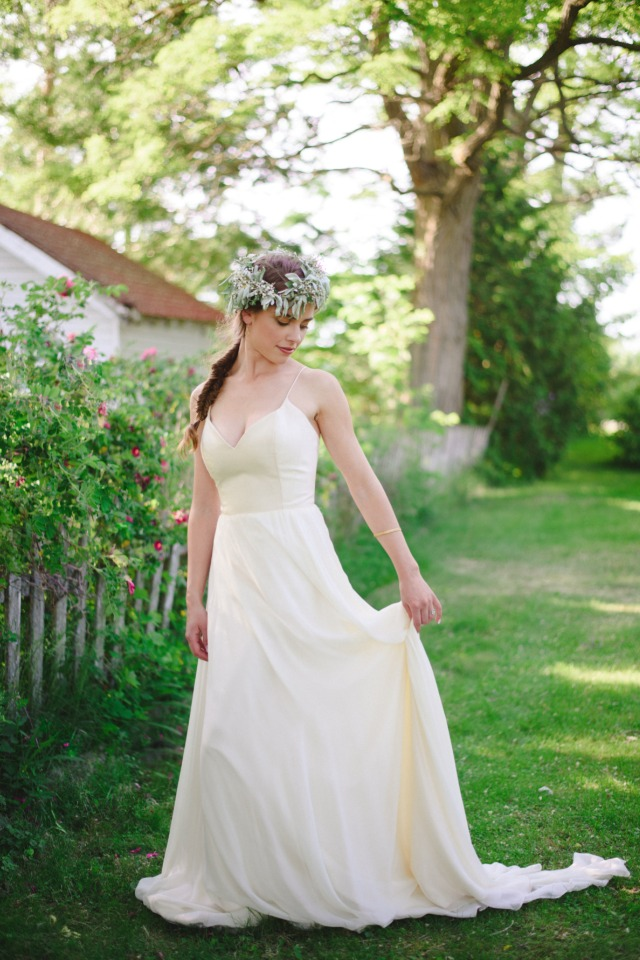 wedding dress from Mrs Bridal Boutique