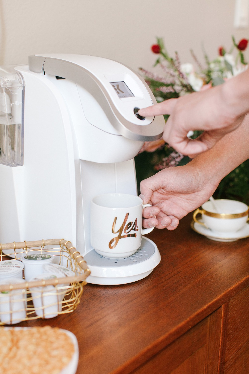 Breakfast In Bed Or Any Morning Wouldnt Be Complete Without Coffee And With Our New KeurigR K250 Brewer We Can Easily Create Enjoy The Perfect Cup