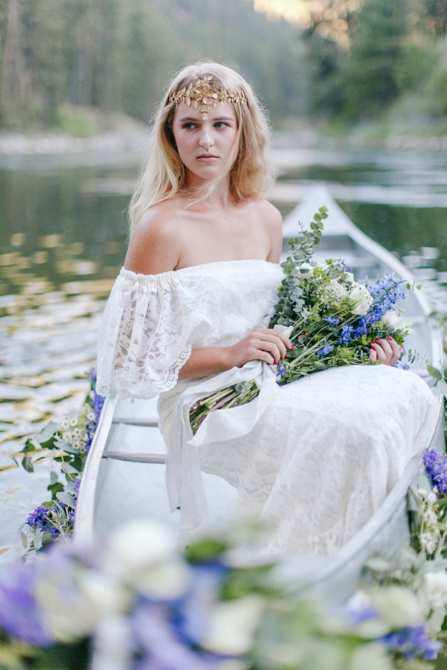 perfect wedding style for your mountain wedding
