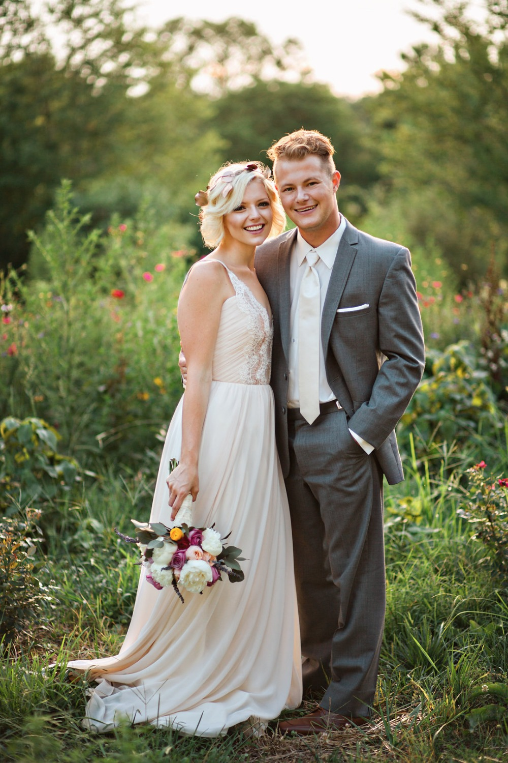 Rustic Vintage Elopement in Copper