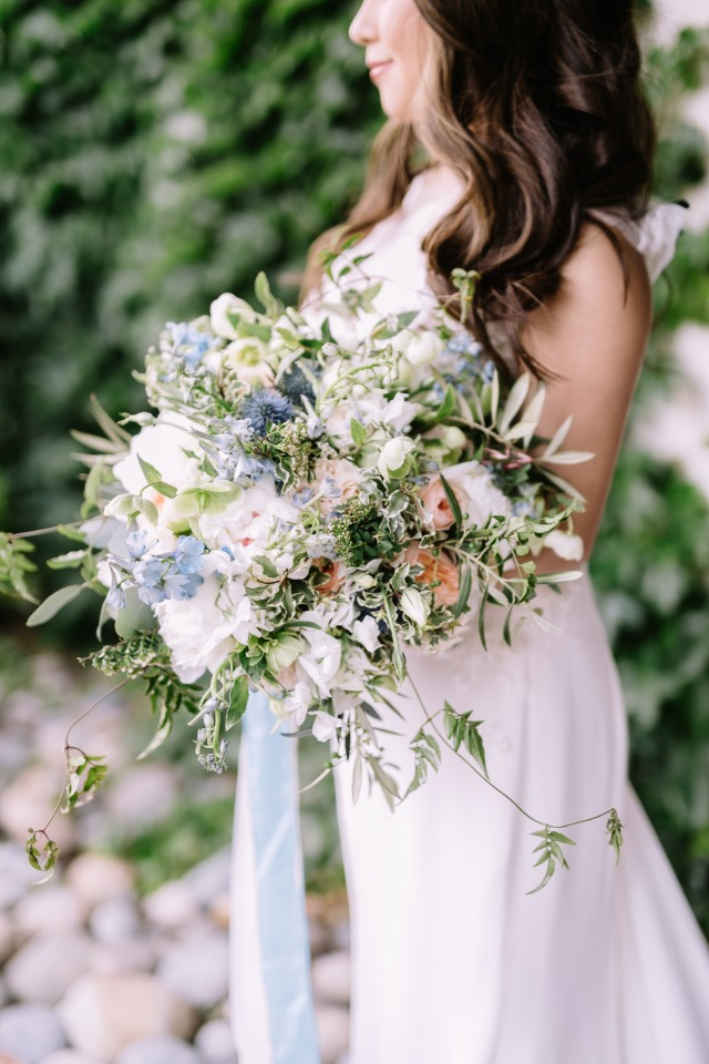 large wedding bouquet