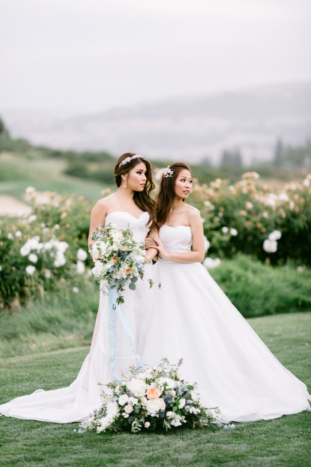 brides in BoLee Bridal wedding gowns