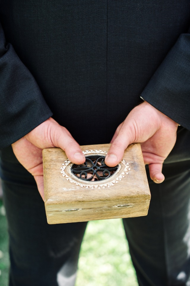 wedding rings box