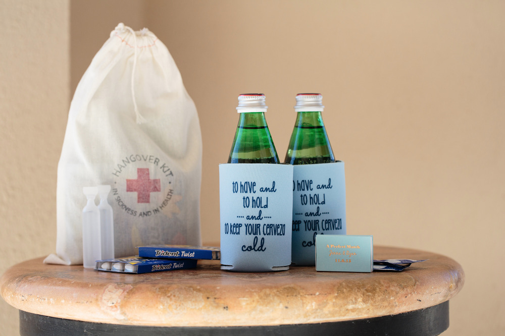 fun wedding welcome bag ideas