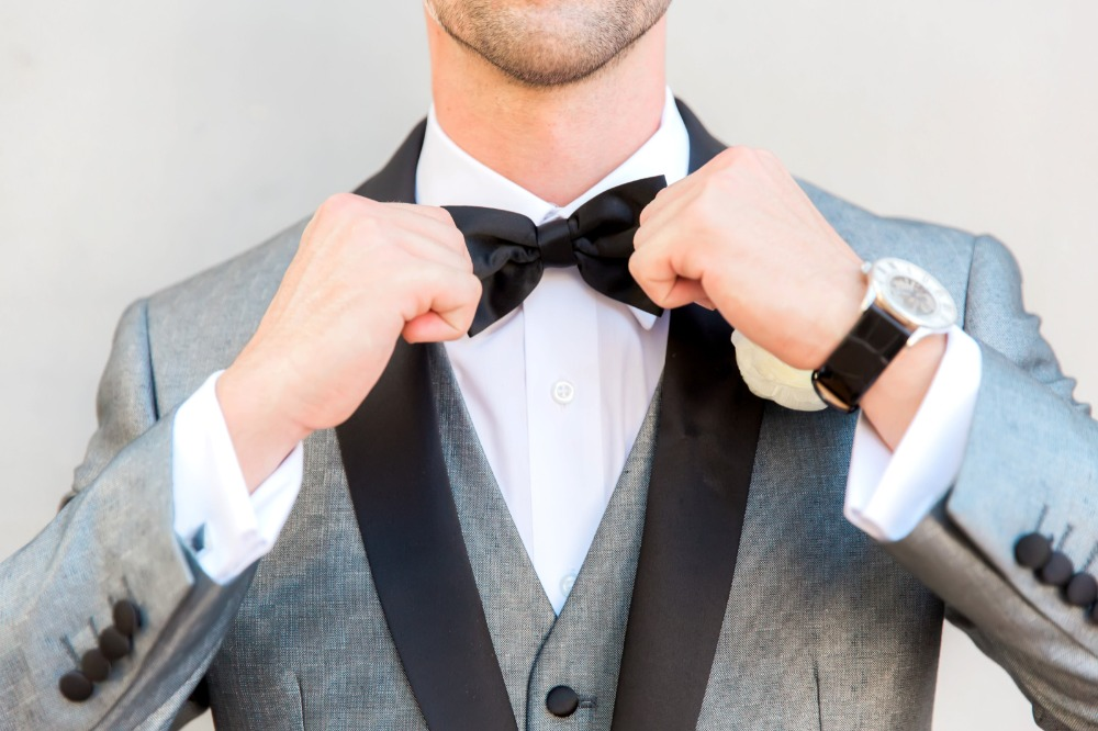 Dapper groom apparel