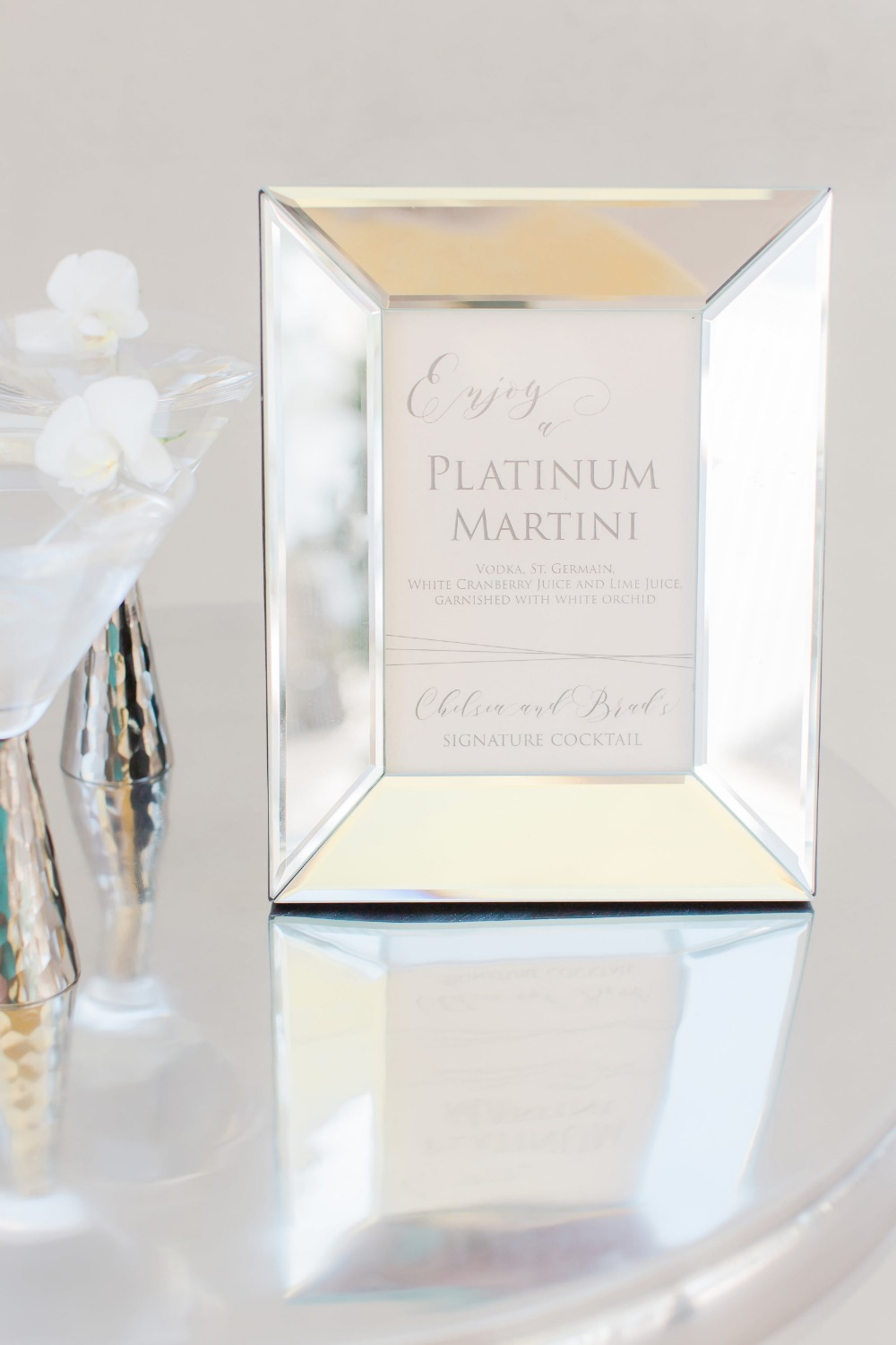 Gallery Silver And Blush Jet Set Wedding Ideas