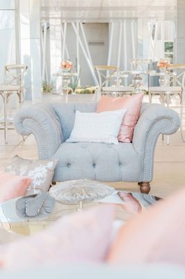 Silver And Blush Jet Set Wedding Ideas