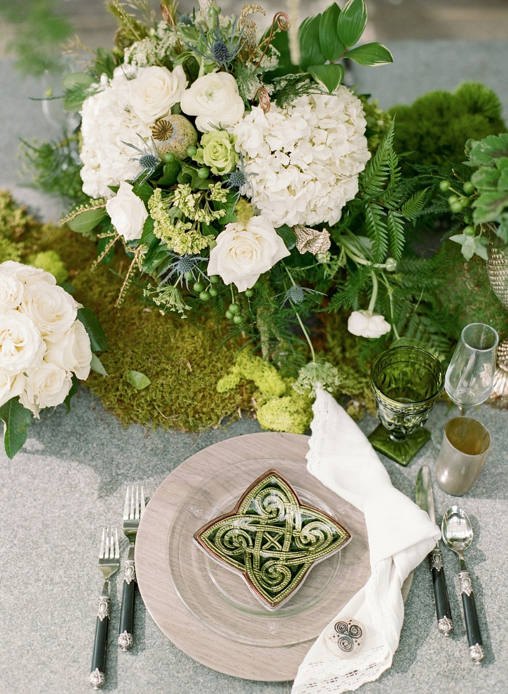 Celtic table decor