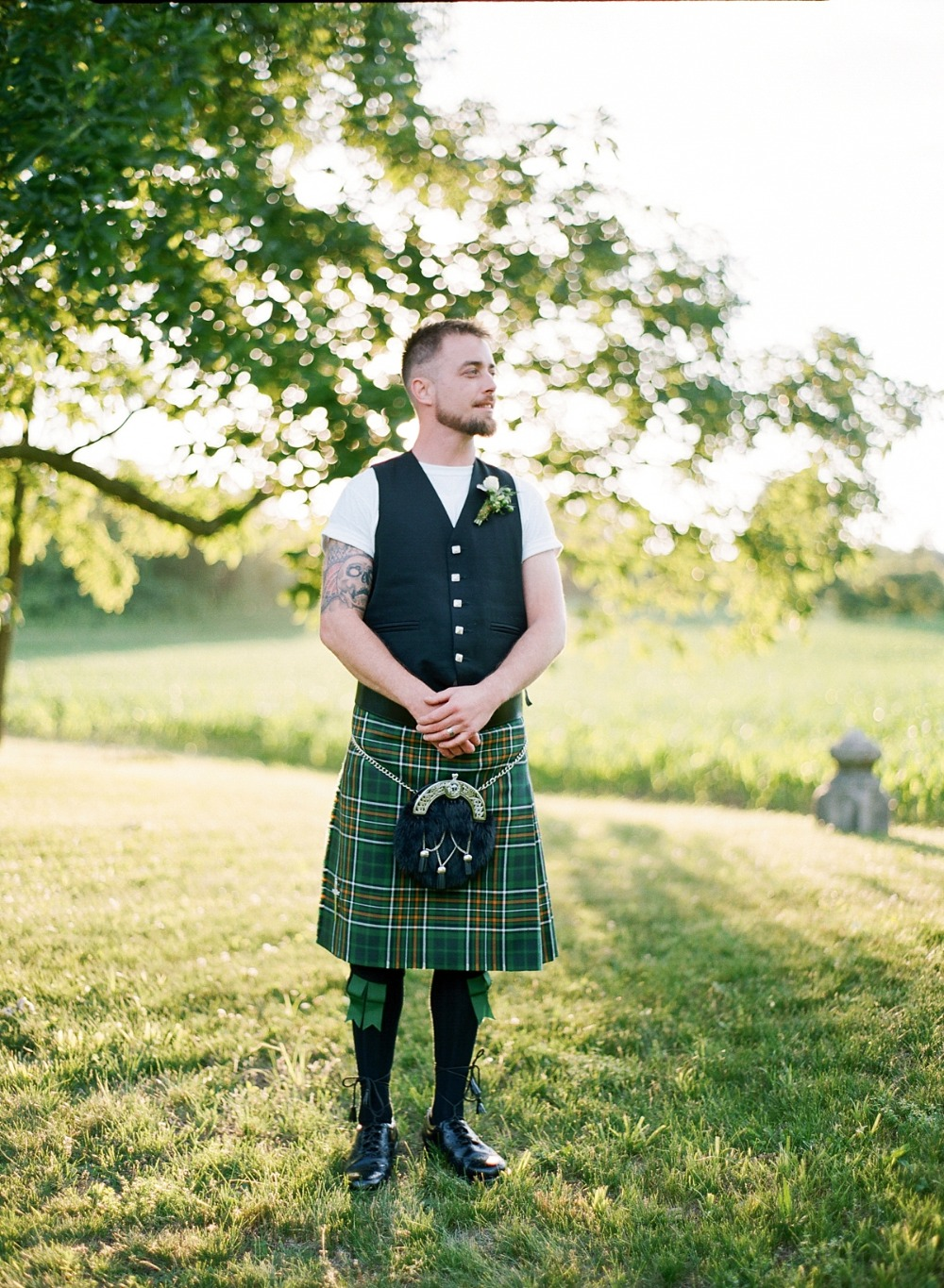 Irish groom