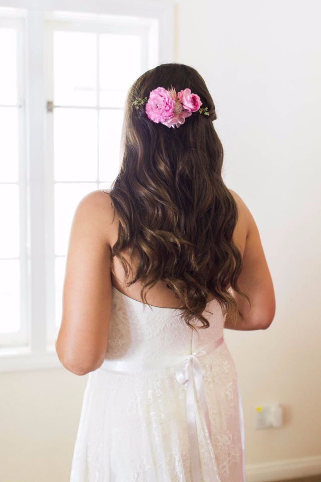 long wedding hair idea