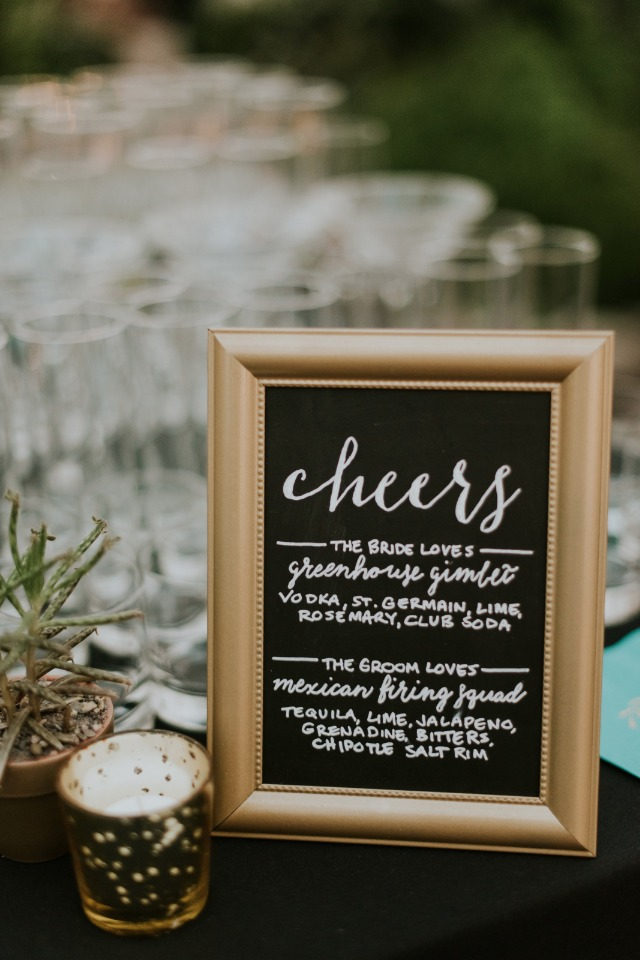 cheers wedding bar sign