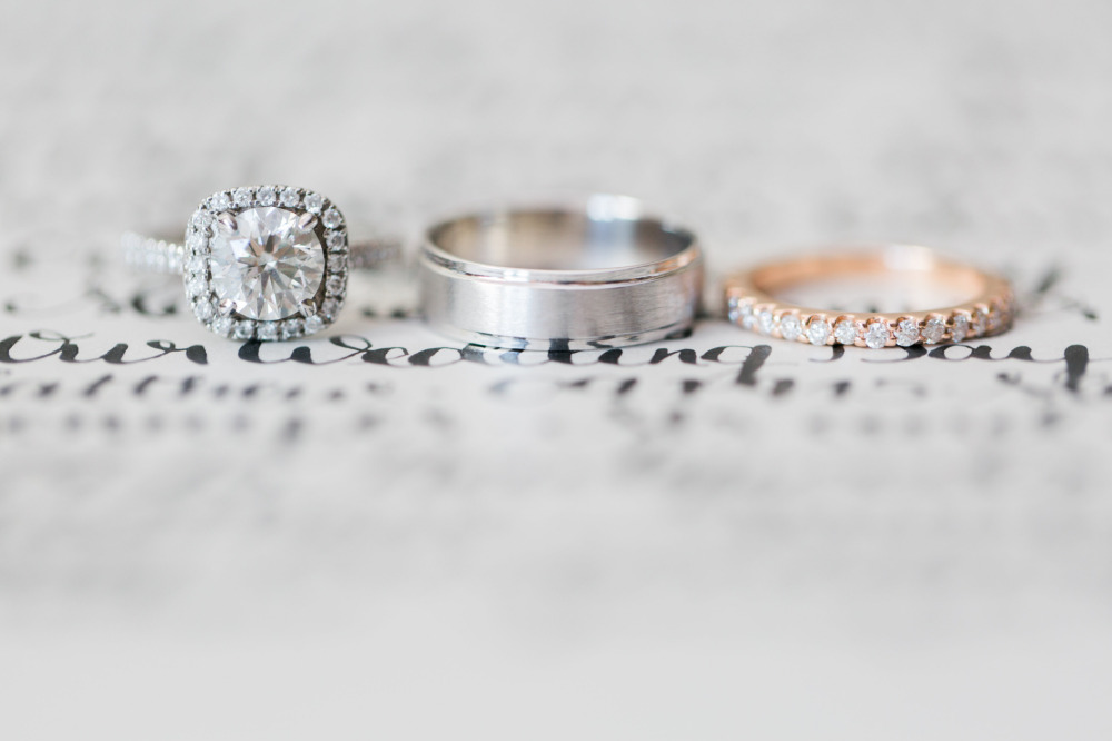 dazzling diamond wedding rings