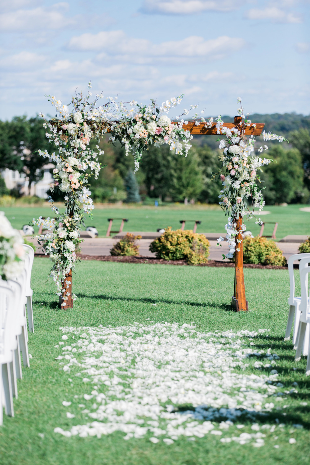 beautiful outdoor wedding ceremony venue