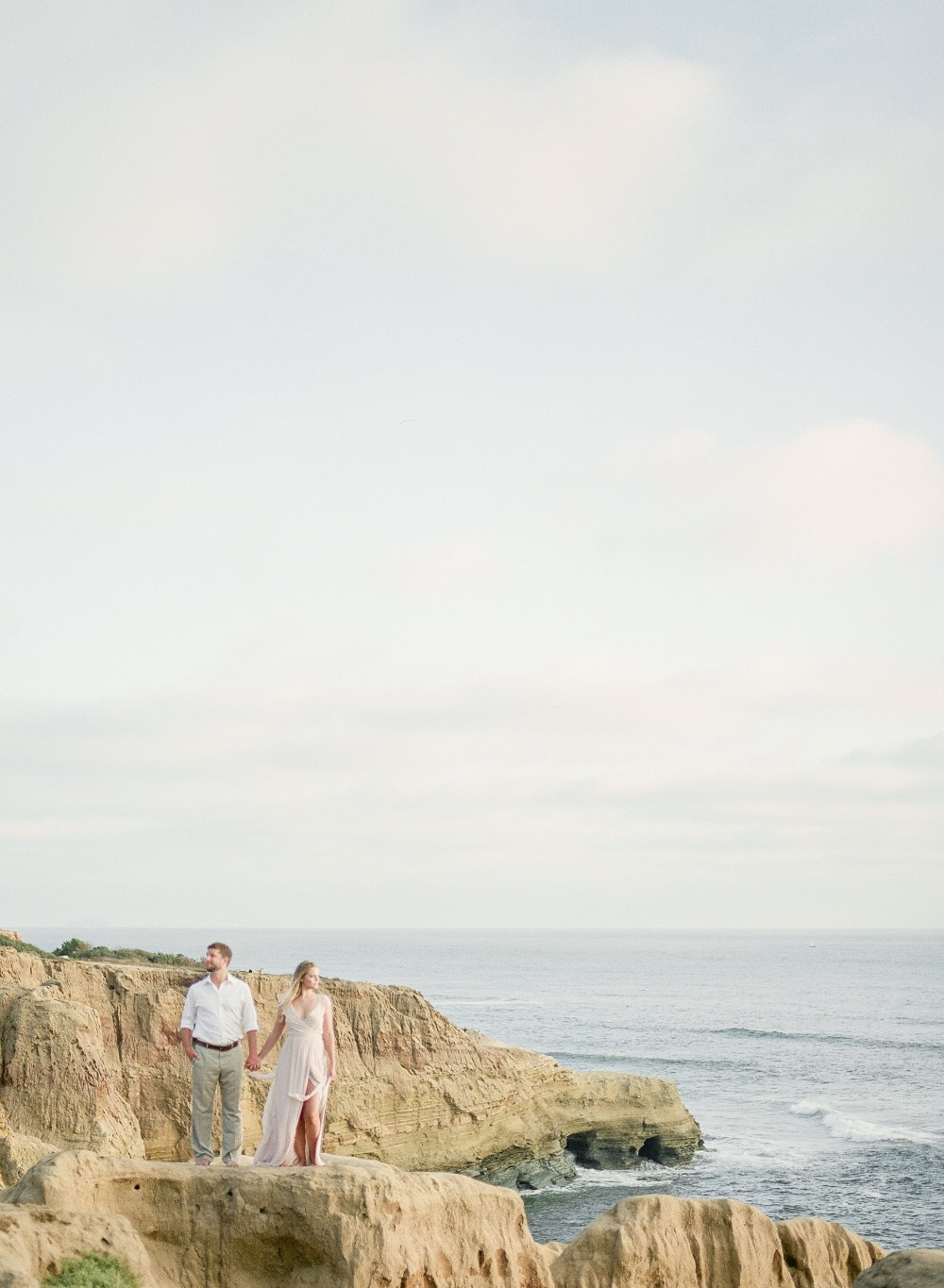 Sea cliffs wedding inspiration