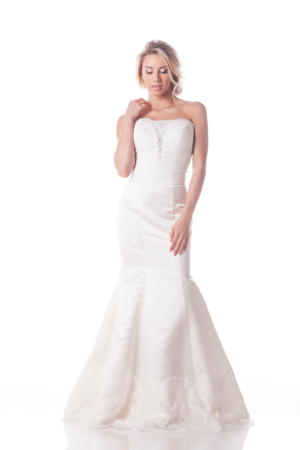 customize your own Olia Zavozina wedding gown