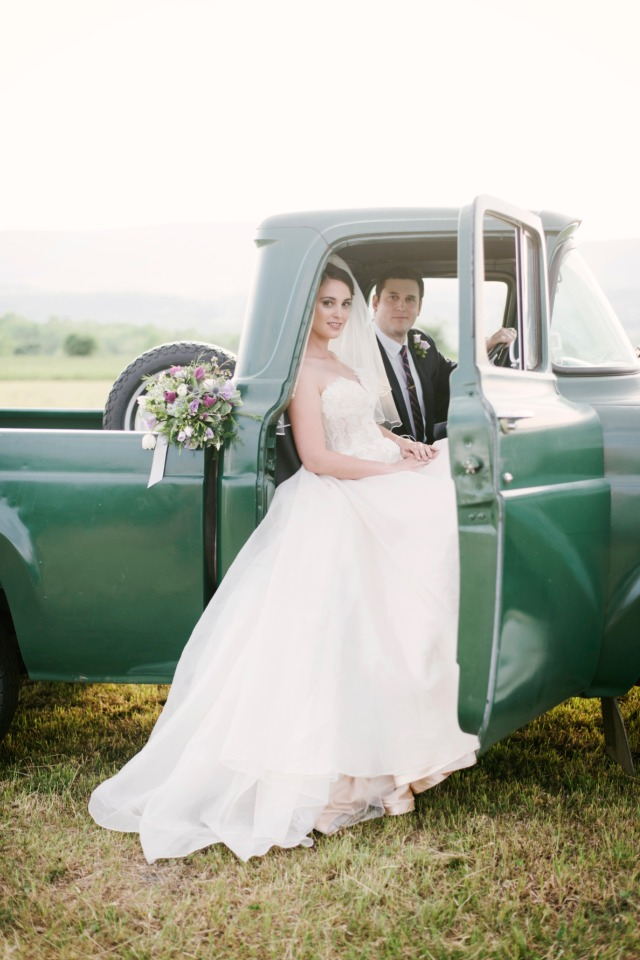 wedding wheels for your vintage farm wedding