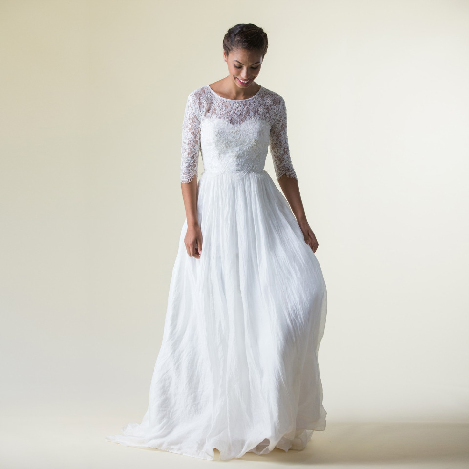 Eco Friendly Celia Grace Wedding Dress