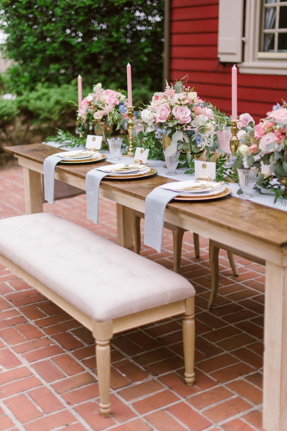 bench seating for your wedding guests