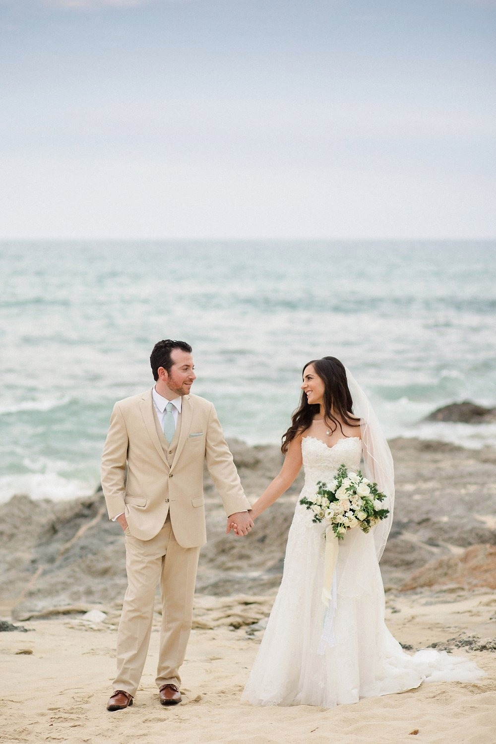 Pretty beach wedding