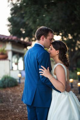Vibrant Preppy Wedding In California