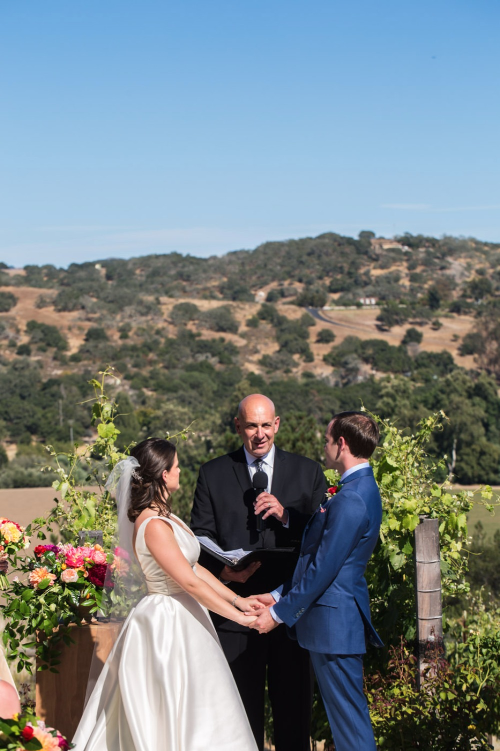 Outdoor ceremony in California