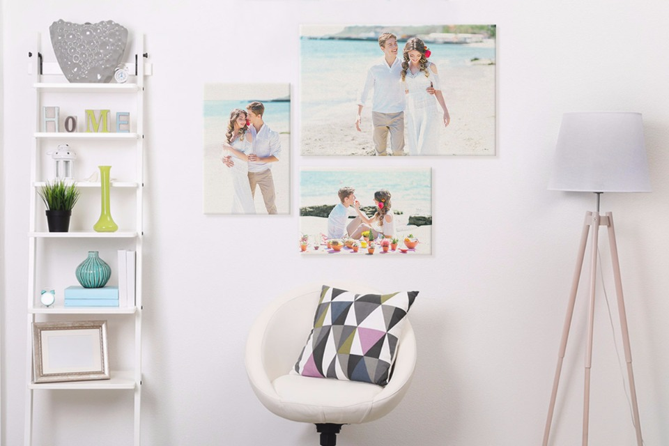 print wedding photos on cavas
