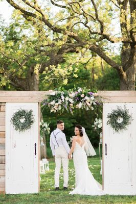Luxury Barn Wedding in White Grey and Gold