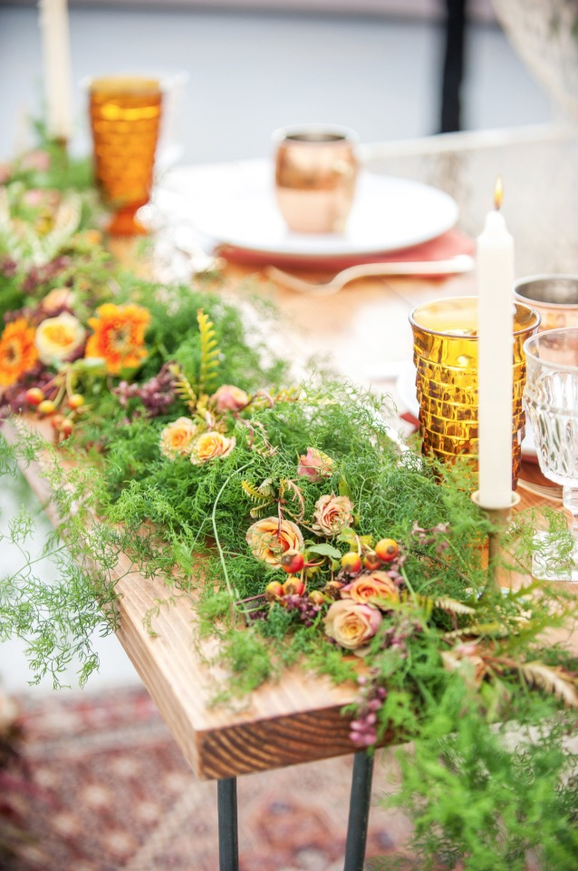 fall style table decor