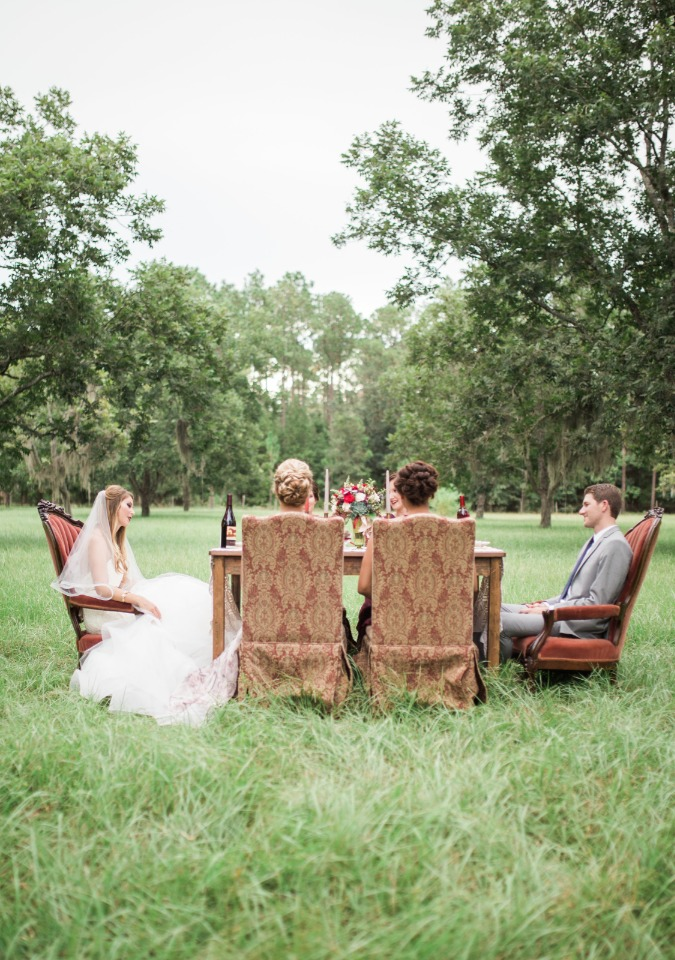fall wedding in the country