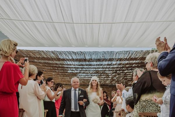 Elegant Seaside Wedding In Spain