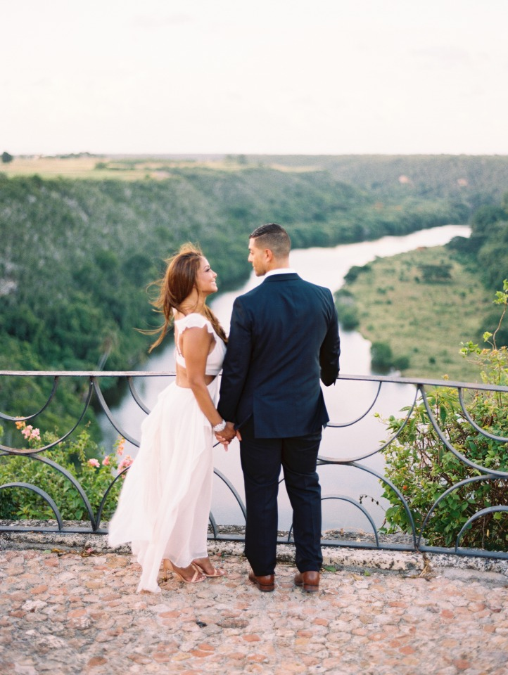 1 year wedding anniversary in the Dominican Republic