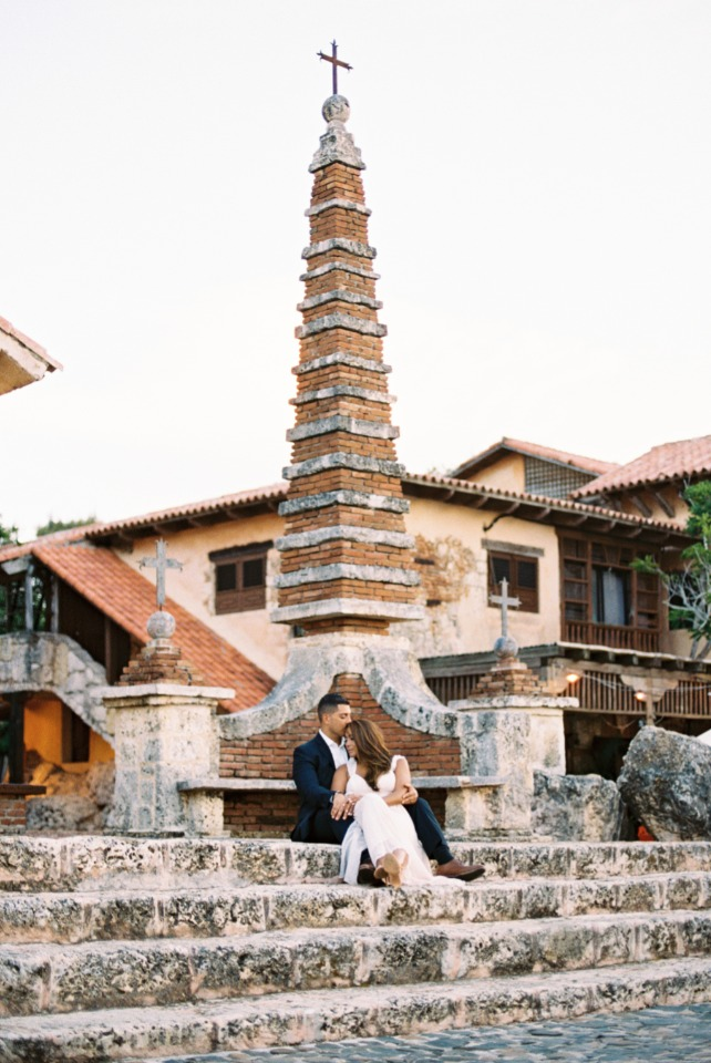 first wedding anniversary in the Dominican Republic