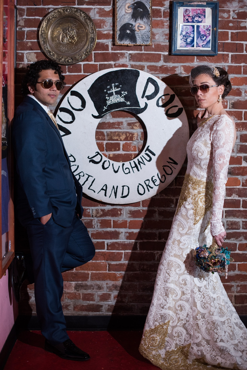 voodoo doughnuts wedding ceremony