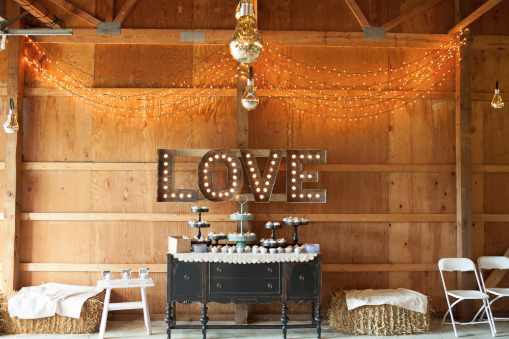 love marquee sign wedding lighting