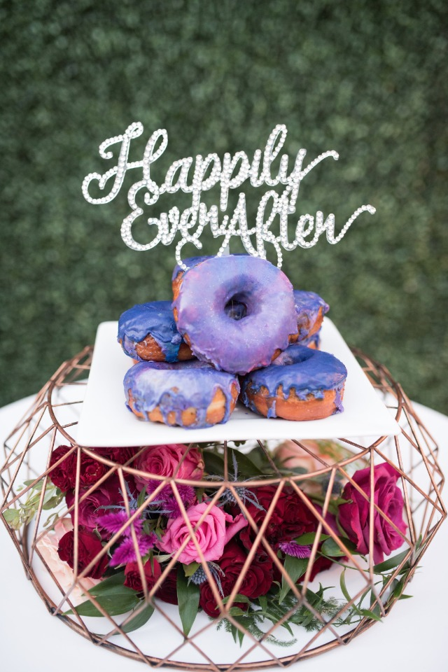 happily ever after purple donuts