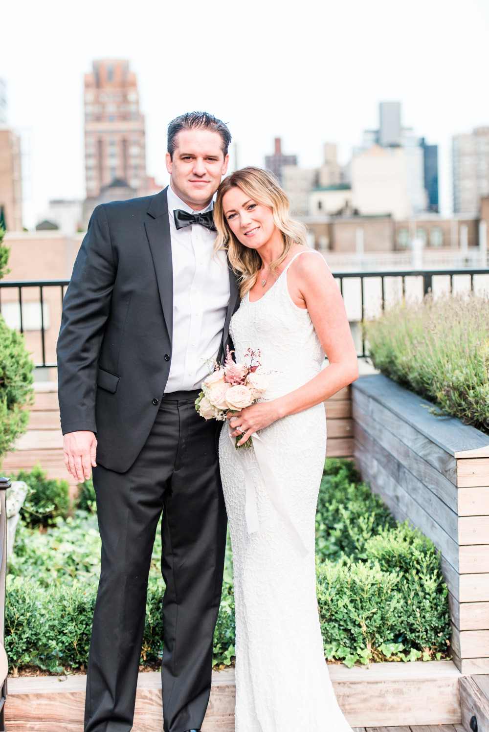rooftop wedding anniversary in NYC