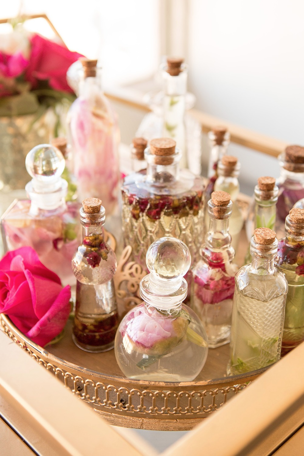 Make your own fragrance bar idea