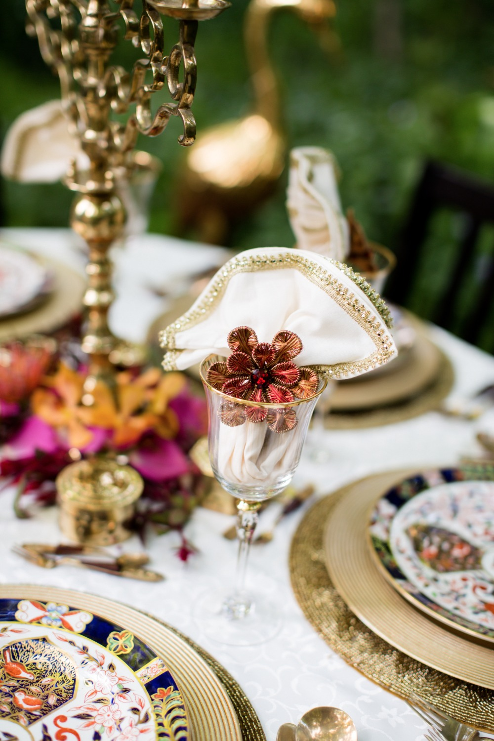 Eclectic place setting ideas