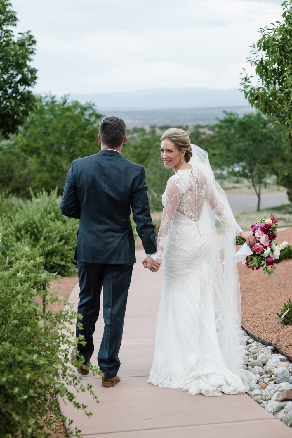 Romantic desert themed wedding