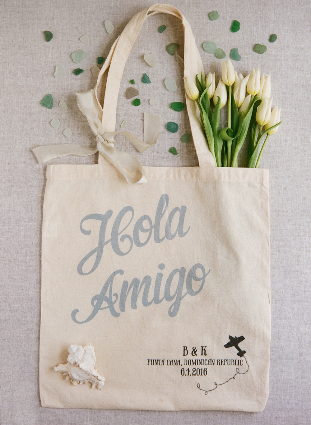 Hola Amigo Wedding Chicks tote