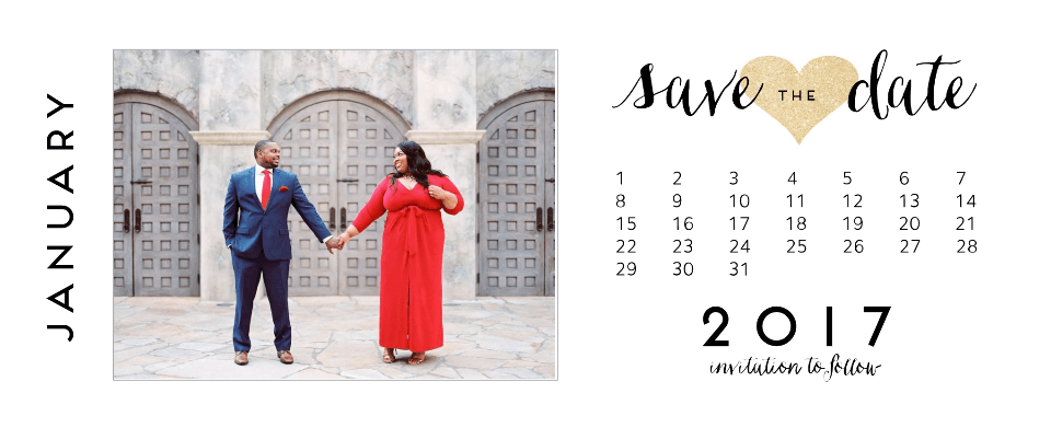 Free Photo Save the Date