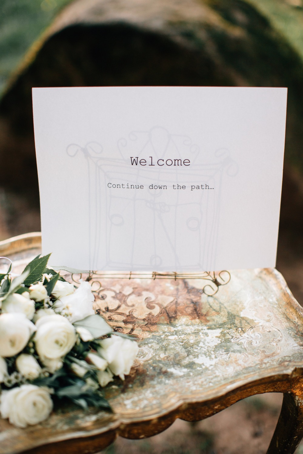 Ultra Romantic Forest Wedding