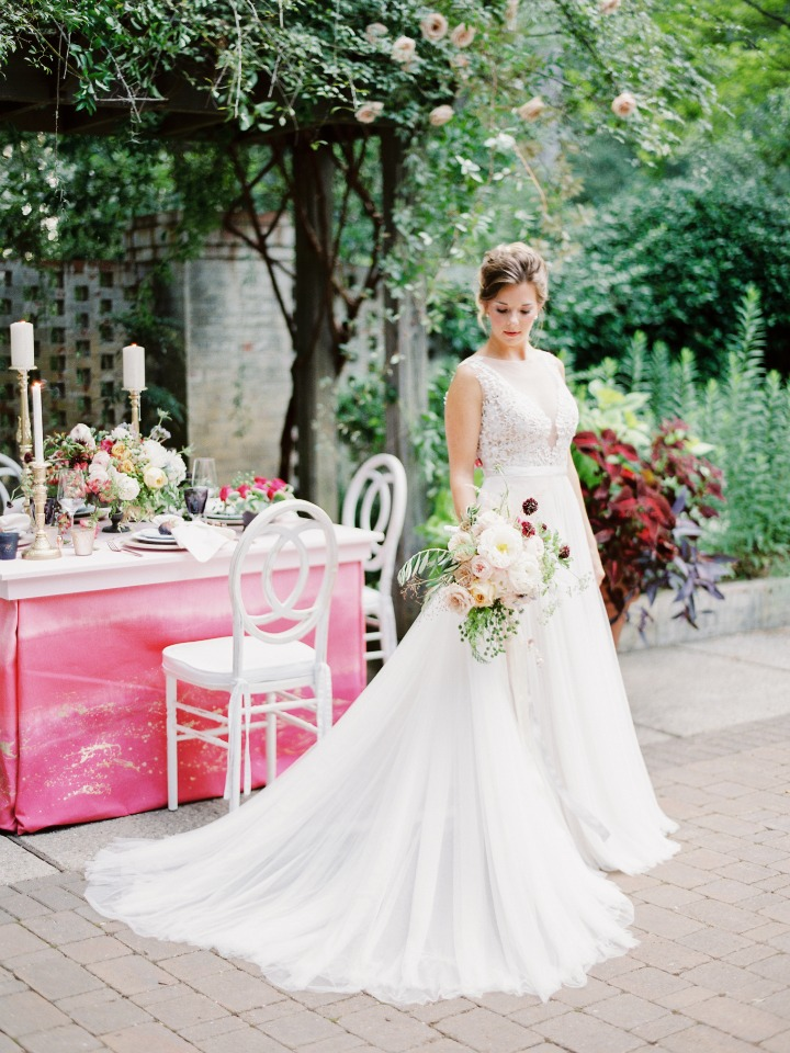 chic wedding dress from Little White Dress